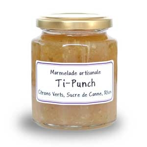 Confiture ti-punch (citronvert-rhum)