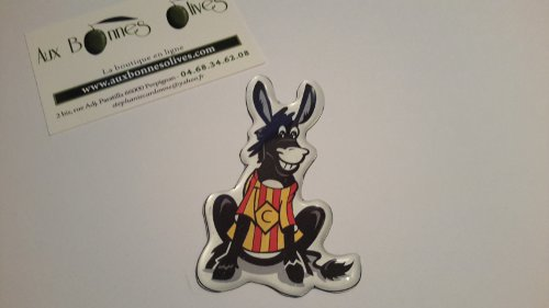 Magnet plaque ane catalan