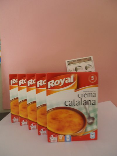 Crème catalane royal ( lot de 5 boites )
