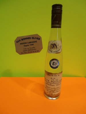 eau de vie poires williams 35 cl 43 °