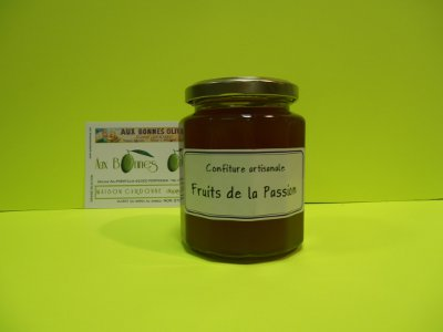 Confiture fruits de la passion