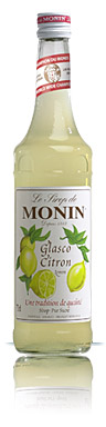sirop saveur glasco citron monin