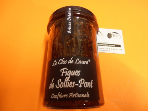 Confiture figues de sollies 230 gr laure
