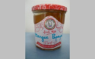confiture mangue-papaye