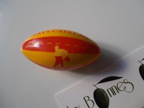 Magnet ballon rugby pays catalan