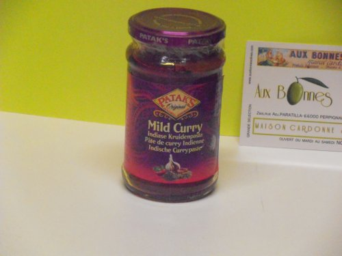 Mild curry paste madras patacks