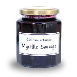 Confirure Myrtille Sauvage