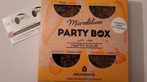 Party box boites 8 produits