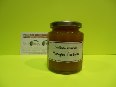 Confiture mangue passion