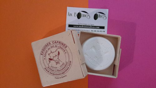 Savon exquises caprines 80 grs