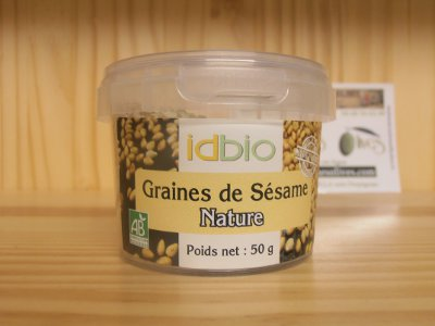 Graines sesame nature 50 grs