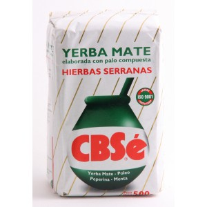 Yerba Mate CBSe traditionnelle 500 grs